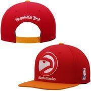 NBAStore.com - NBAStore.com Mens Atlanta Hawks Mitchell & Ness Red XL Logo Snapback Adjustable Hat - AdoreWe.com
