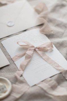Bridal Shower | All Things Lovely Paper Co. | Calligraphy, Nude, Soft, Beige, Blush, Invitations, Invite, Vintage Stamps