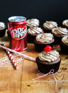I like dr. pepper....and cupcakes.....especially dr pepper cupcakes.