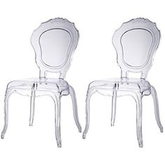 Canali Sleek Modern Accent Chair by INSPIRE Q (Set of 2)   Overstock.com Shopping - The Best Deals on Dining Chairs
