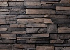 Manufactured Stone Veneer - Frontier Ledge Panels - Walnut / Frontier Ledge / 120 Sq Ft Crate