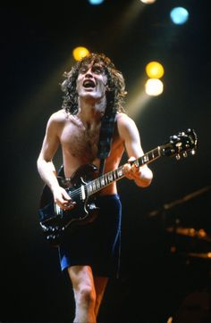 Young Angus Young