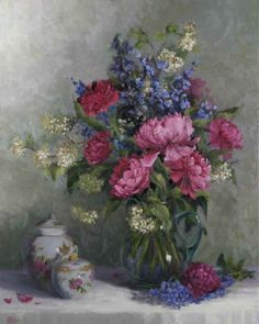 Peonies__Chinese_Urns  \\ Hope Reis is a contemporary artist, originally from Greenwich, Connecticut.