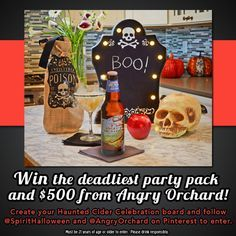 This prize is to die for! Enter here: http://spirit.votigo.com/fbsweeps/sweeps/Haunted-Cider-Celebration-Sweepstakes