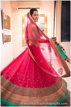 Indian wedding dress by MadSamTinZin