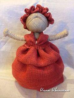 Инна Ивинская Diy Rag Dolls, Twine Crafts, Burlap Projects, Burlap Lace, Art N Craft, Diy Arts And Crafts, Doll Crafts, Fabric Dolls, Handmade Toys