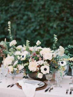 Mission san juan capistrano wedding. plenty of petals