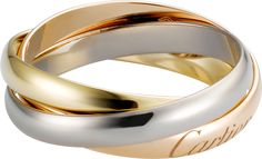 Trinity de Cartier Ring SMWeißgold, Gelbgold, Rotgold