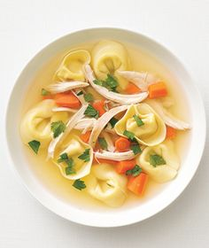 Easy chicken rotisserie soup.