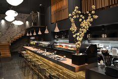Céline Wright - Eco Designer - Techiques ancestrales et modernité Celine Wright, Sushi, Bar Design, Copenhagen Style, Creations, Interior Design, Table, Furniture, Home Decor