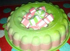 Receta de gelatina de bombones
