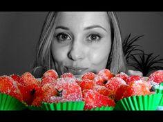 """Receita de """"MORANGUINHO"""" : docinho lindo e delicioso!!! - YouTube"""