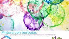 #pintando con #burbujas