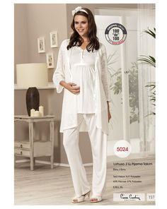 Pierre Cardin 5024 Lohusa Üçlü Pijama Takım | Mark-ha.com #stylish #fashion #newseason #yenisezon #trend #moda #hamile #lohusa #doğumçantası #hastaneçıkışı