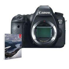 Canon EOS 6D DSLR Camera Body BUNDLE w/Adobe Photoshop