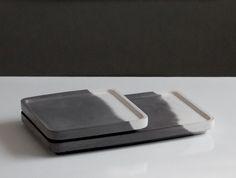 IDA Tablett - in Beton getuscht