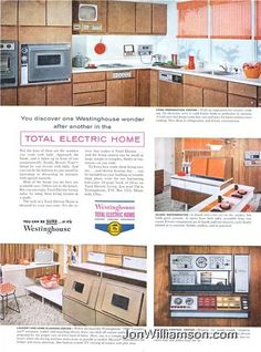 """Does the """"Total Electric House"""" do the cooking for you? 1959 Westinghouse ad"""