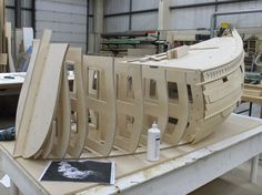 The Pirates! pirate ship sails into M Shed Pirate Boats, Pirate Art, Pirate Theme, Pirate Ships, Pirate Birthday, Model Ship Building, Boat Building, Homemade Pirate Costumes, Old Sailing Ships