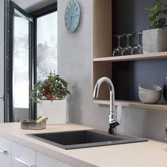 71802000 Hansgrohe Focus M42 Μοντέρνα Ψηλή Μπαταρία Κουζίνας Νεροχύτη - FloBaLi #kitchentap #kitchenrenovation #industrialkitchendeisgn #kitchendeisgn #διακοσμησηκουζινας Sink, Kitchen, Home Decor, Sink Tops, Vessel Sink, Cooking, Decoration Home, Room Decor, Vanity Basin