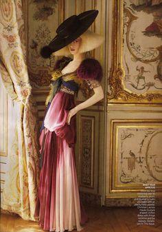 Alighting by Grace Coddington... super fantastic