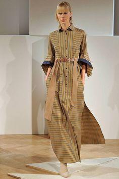 Palmer// harding London Spring/Summer 2017 Ready-To-Wear Collection Modest Fashion, Hijab Fashion, Boho Fashion, Fashion Dresses, Womens Fashion, Fashion Design, Palmer Harding, Stripes Fashion, Fashion 2017