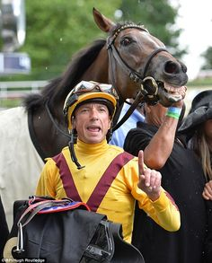 American filly Lady Aurelia sprinted to a stunning seven-length triumph under Frankie Dettori.  6/15/16