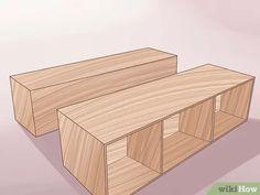 Build a Wooden Bed Frame - Image titled Build a Wooden Bed Frame Step 21 - Bed Frame With Storage, Diy Bed Frame, Wood Bed Frame Queen, Making A Bed Frame, Bed Platform, Built In Bed, Wooden Bed Frames, Small Room Decor