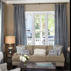 Beige Living Room Ideas 27