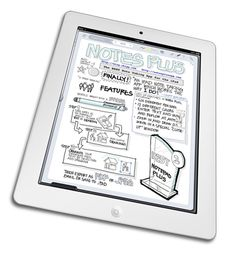 Notes Plus app for handwritteon notes on iPad. Export to Google Drive and Dropbox