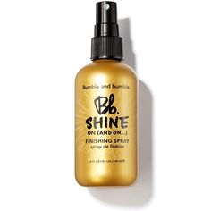 Bumble and Bumble Shine On (And On…) Finishing Spray. InStyle 2012 winner for best instant shine