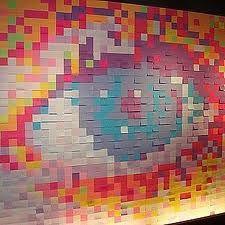 murale postit - Recherche Google