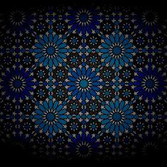 :::: ✿⊱╮☼ ☾ PINTEREST.COM christiancross ☀❤•♥•* ::::  alhambra pattern