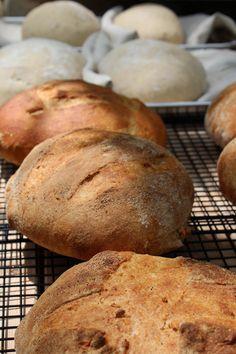 Basic Artisan Bread recipe - Flannel Jammies Farm: Baking Bread...