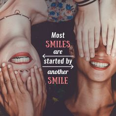 WHO BRINGS A SMILE to your face each time they smile? Tag them in the comments so they know how much you appreciate their smile!