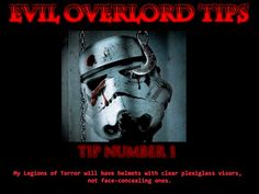 Evil Overlord Tips!