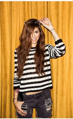 Photographed for Mink Pink Spring 2014 - Christina Perri