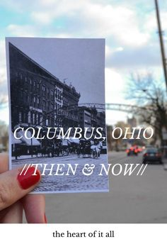 COLUMBUS, OHIO //THEN & NOW// the heart of it all #places #columbus #ohio The Ohio State University Short North Goodale Park