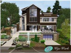 Wye Wurk house by Aloleng - Sims 3 Downloads CC Caboodle