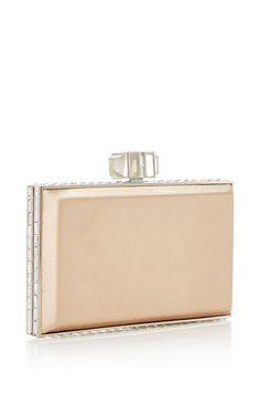 M'O Bridal & Wedding: Judith Leiber Couture Nude Rectangle Clutch from our curated Wedding Rehearsal trunkshow