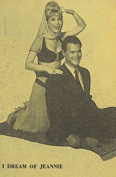 Larry Hagman starred with Barbra Eden. Larry was my cousin somewhere in the family tree.