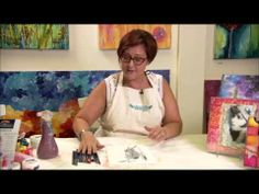 Join Donna Downey as she creates a fabulous mixed media canvas by using an image transfer as a base!