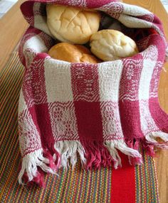 Red and White Picnic Handwoven Towel by coffeebreakdesigns on Etsy, $40.00