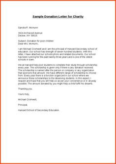 Sample Thank You Letter Coach  Donor Acknowledgement