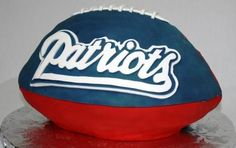 Patriots Football Groom's Cake