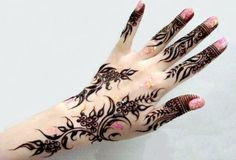 Henna Tattoo Design For Girls Beautiful Back | Fresh 2017 Tattoos ...