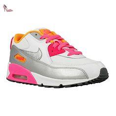Nike - Air Max 90 - 724856101 - Couleur: Blanc-Gris-Rose -