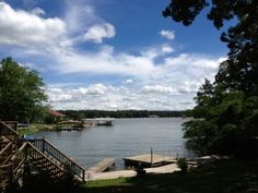Relax on the Deck of a Central Waterfront Home on Lk HamiltonVacation Rental in Hot Springs from @HomeAway! #vacation #rental #travel #homeaway