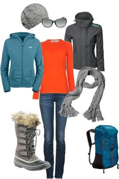 Cute Outfits for an Alaskan Cruise - suitable for a floatplane or whale-watching excursion or a Michigan winter ;-)