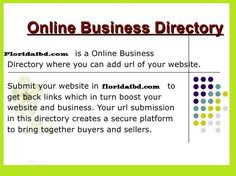 Steps to follow to submit a website in the High PR business Directory