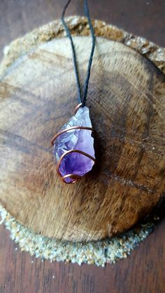 Check out this item in my Etsy shop https://www.etsy.com/listing/471826337/amethyst-crystal-necklace-amethyst
